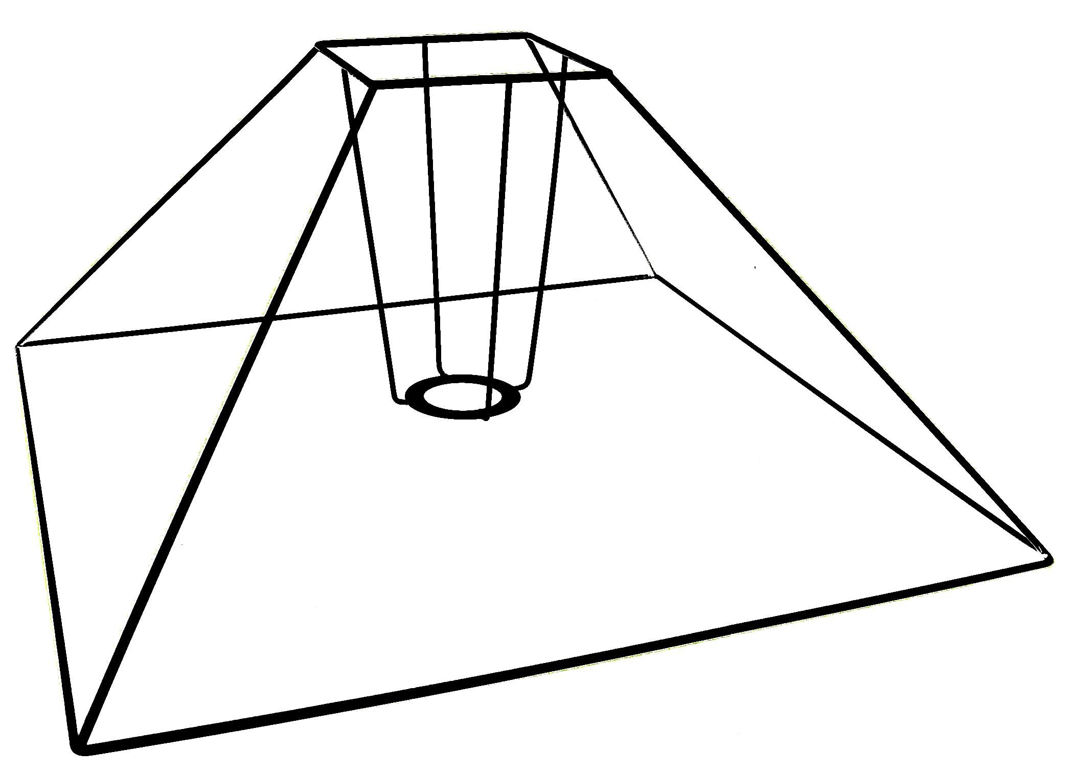 abat jour pyramide les abat jour sur mesure de l 39 atelier du chat qui veille. Black Bedroom Furniture Sets. Home Design Ideas